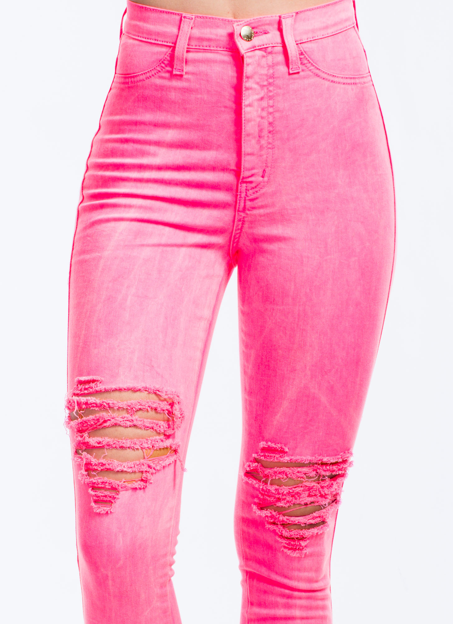 Neon Of Ur Business Jeans NEONPINK
