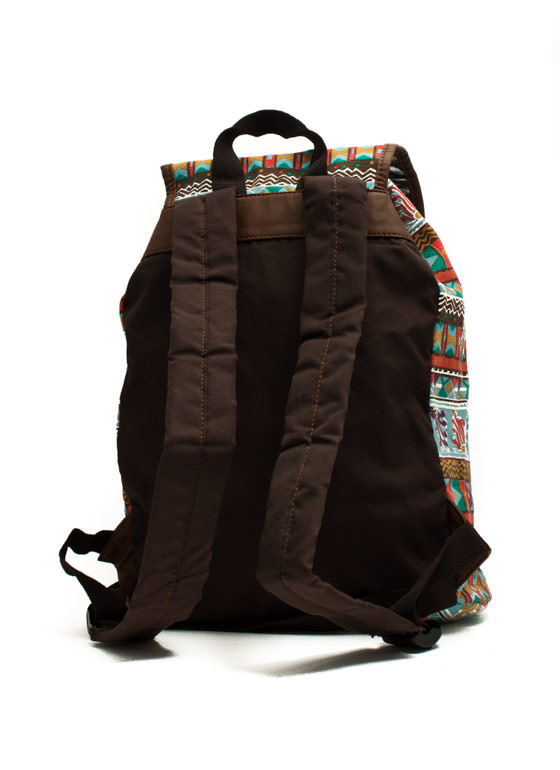 Tribe Vibe Drawstring Backpack SKYMULTI