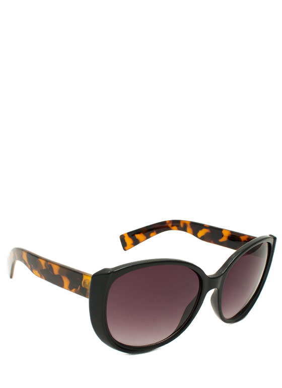 Around We Go Sunglasses BLACKTORT