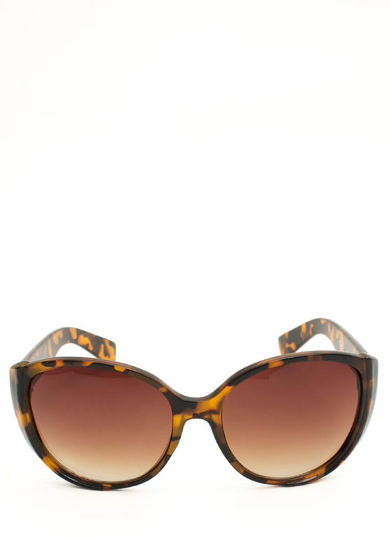 Around We Go Sunglasses BROWNTORT
