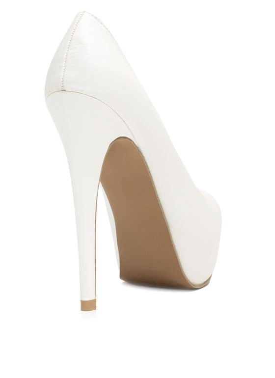 Always Classic Platform Pump WHITE