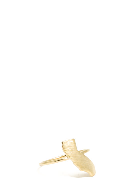 Cali Pride Charm Ring GOLD