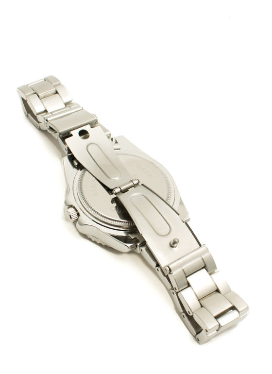 Brushed Metallic Boyfriend Watch SILVER