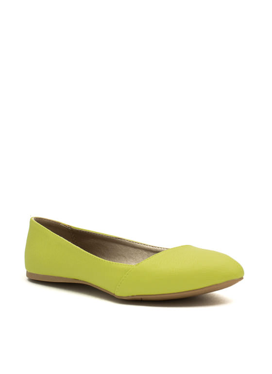 Crosshatch A Plan Wrapped Flats LEMONLIME