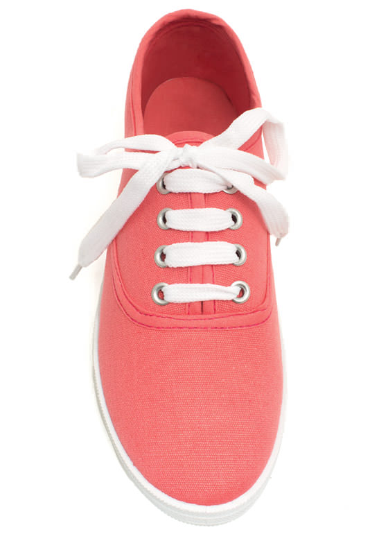 Solid Foundation Canvas Sneakers MELON