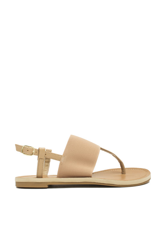 Stretch The Rules Elastic Sandals SAND