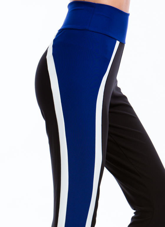 Vertical Colorblocked Joggers ROYAL