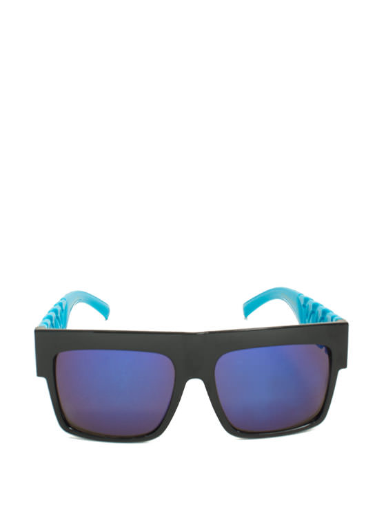 Never Chain-ge Sunglasses BLUE
