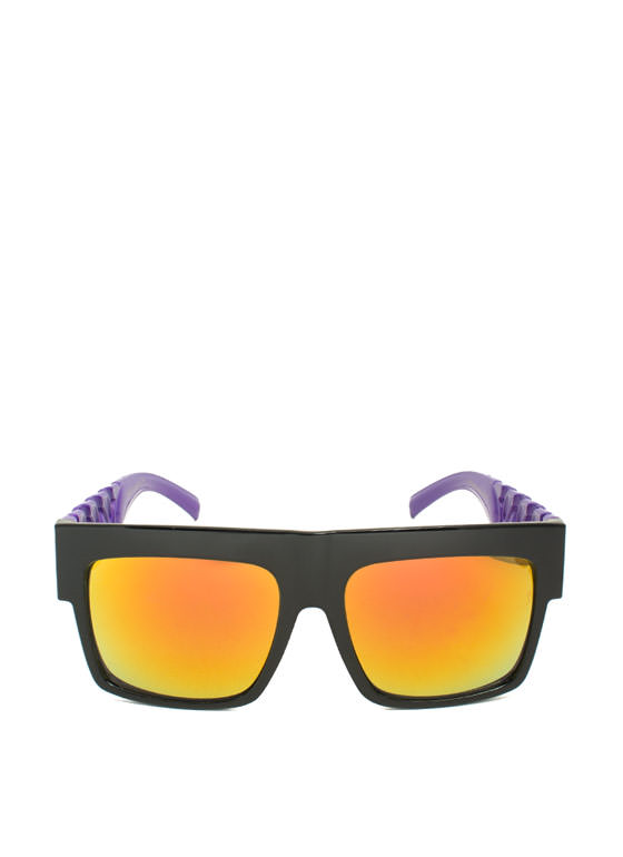 Never Chain-ge Sunglasses PURPLE