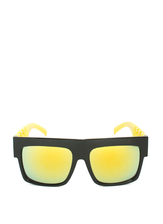 Never Chain-ge Sunglasses YELLOW