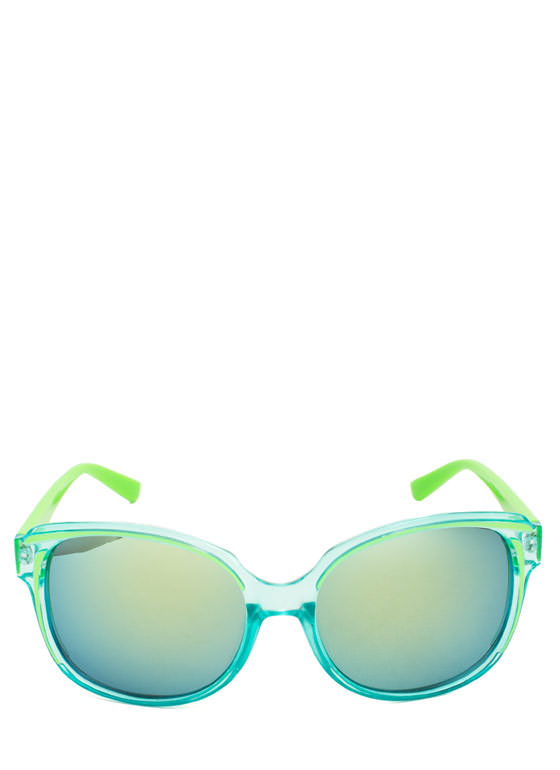 Pigment Stain Sunglasses GREEN