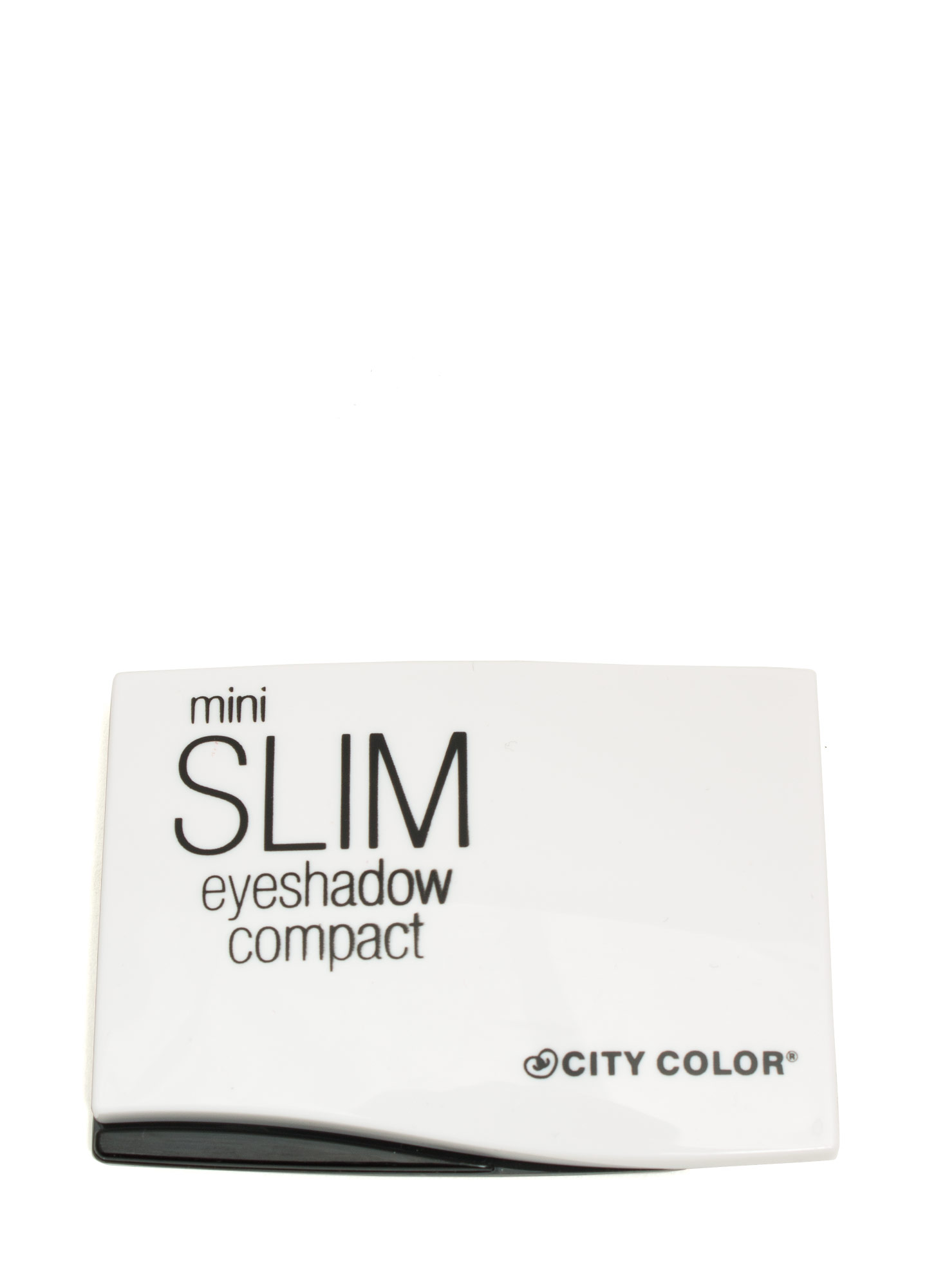 Slim Mini Eyeshadow Compact WHITE
