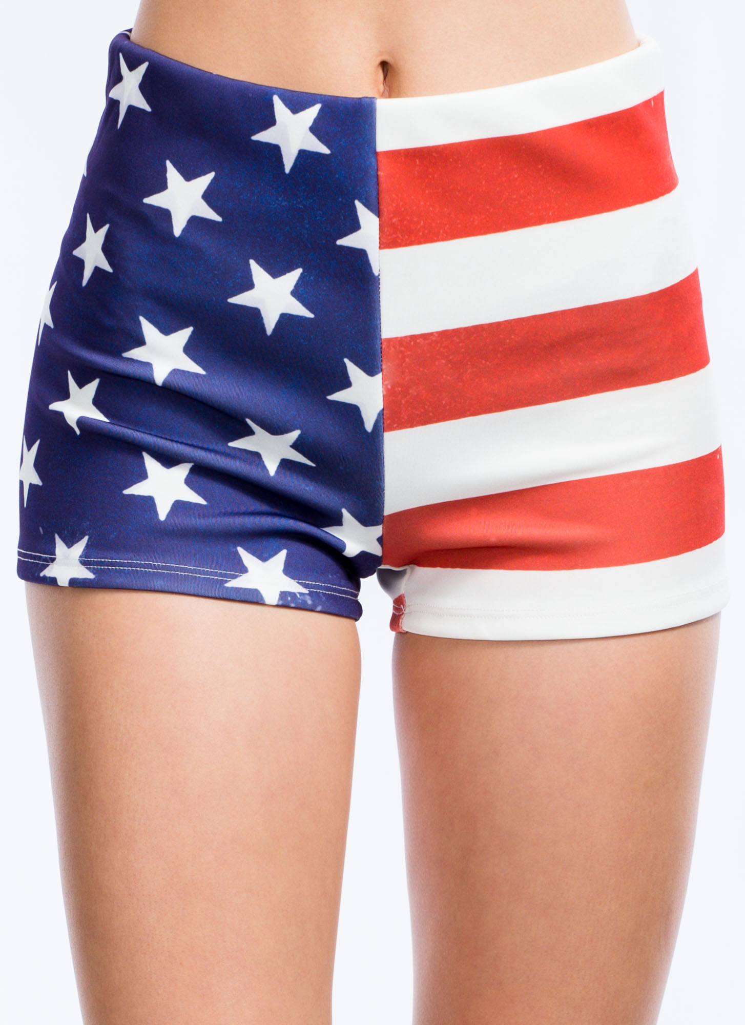 The Stars And Stripes Scuba Shorts REDBLUE