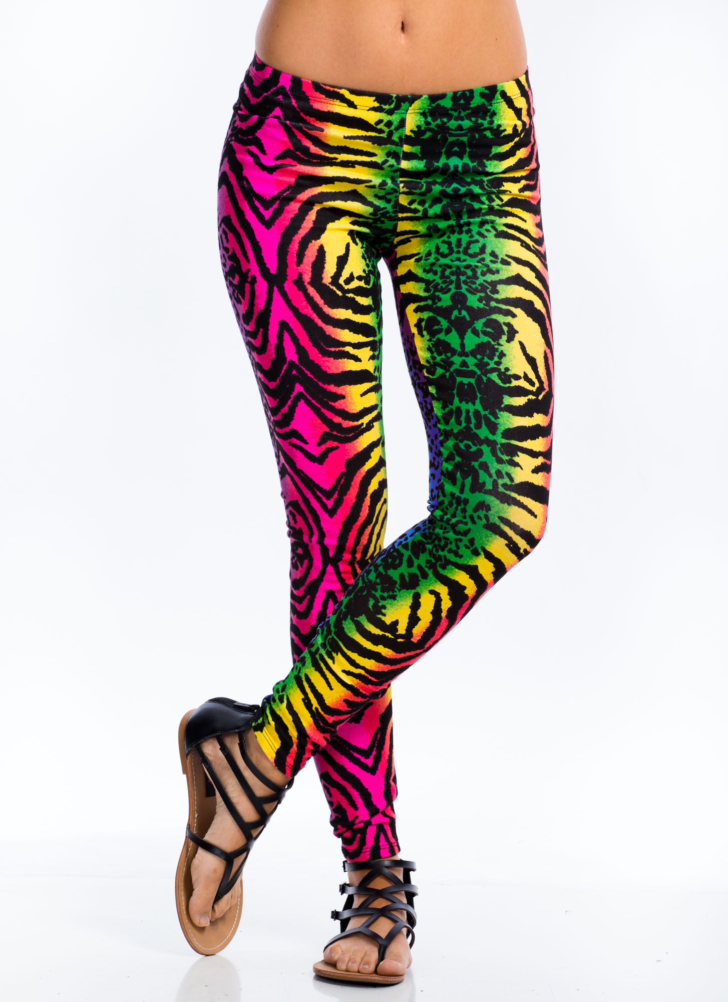 Mixed Wild Thing Leggings PINK
