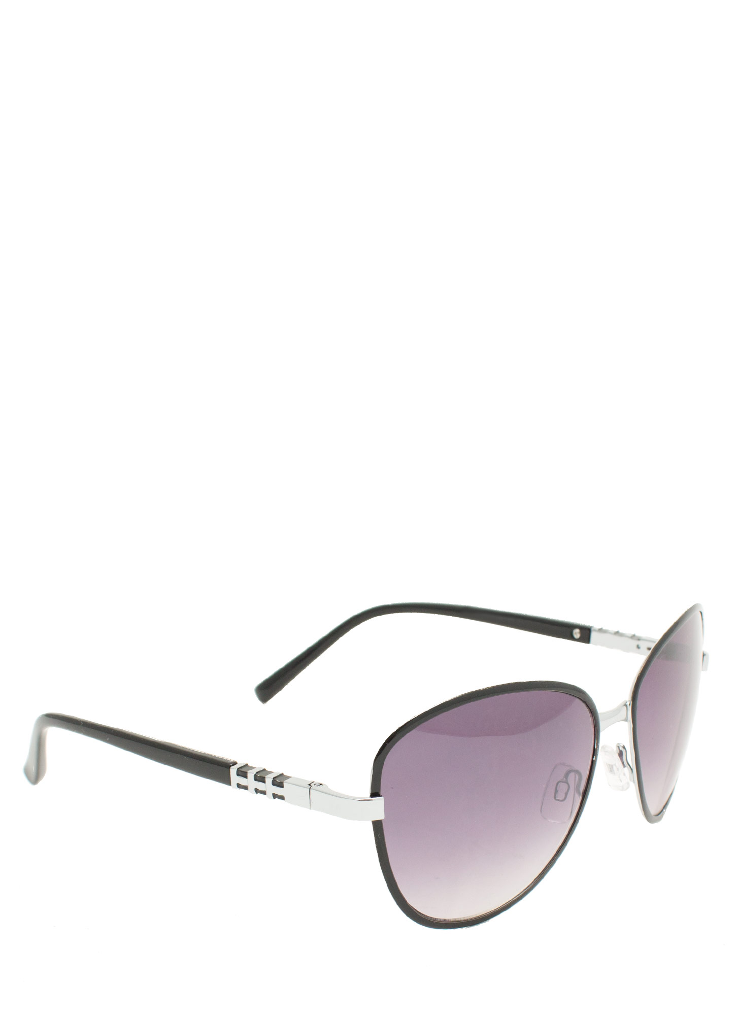 Touch Of Metallic Sunglasses BLACK