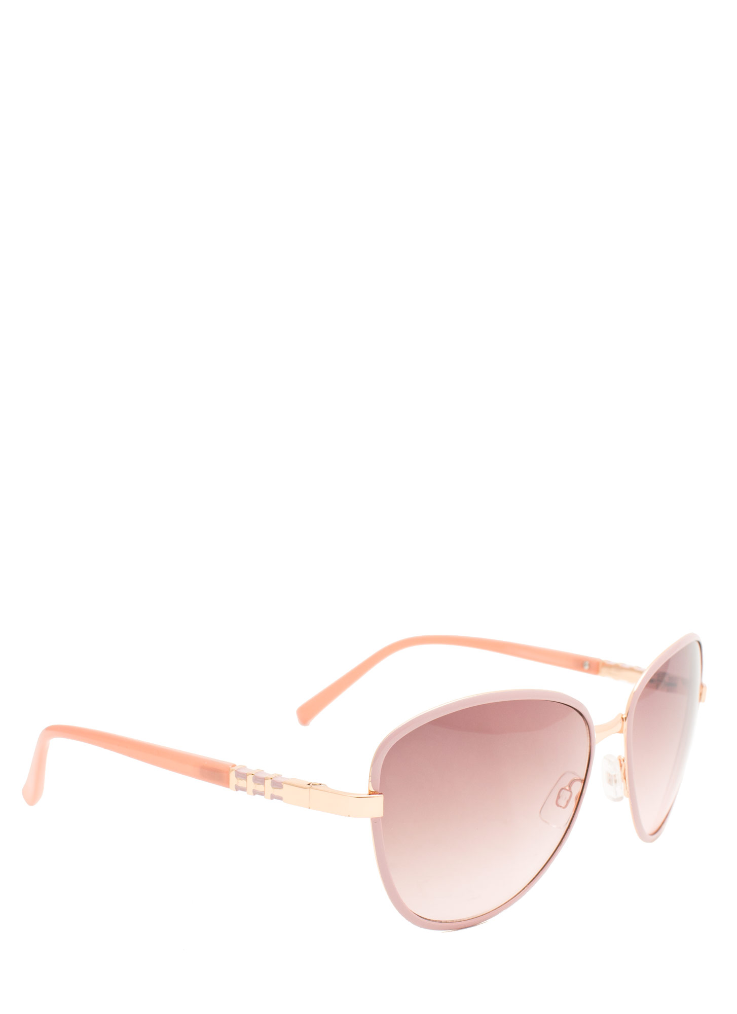 Touch Of Metallic Sunglasses MAUVE