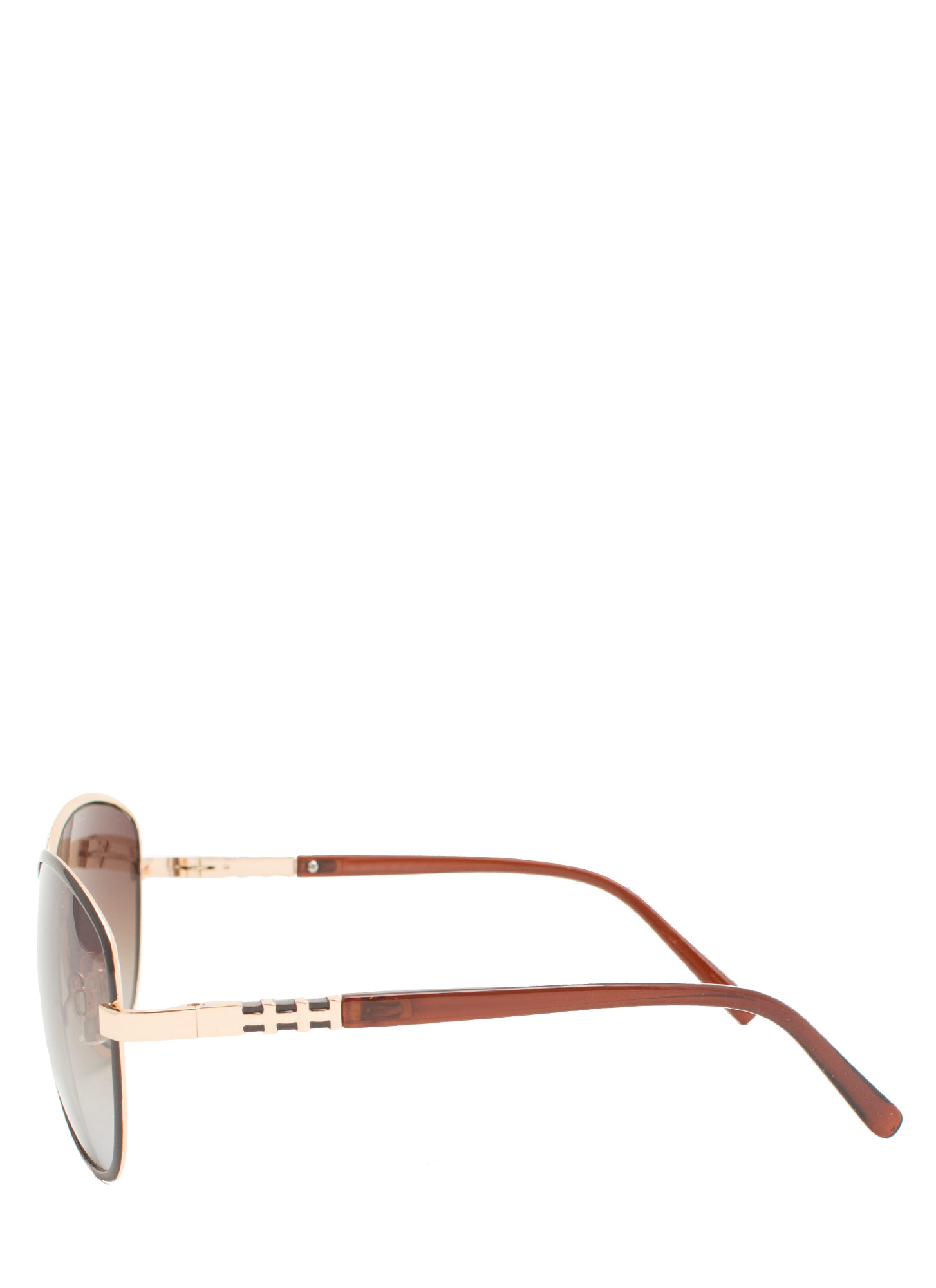 Touch Of Metallic Sunglasses MOCHA