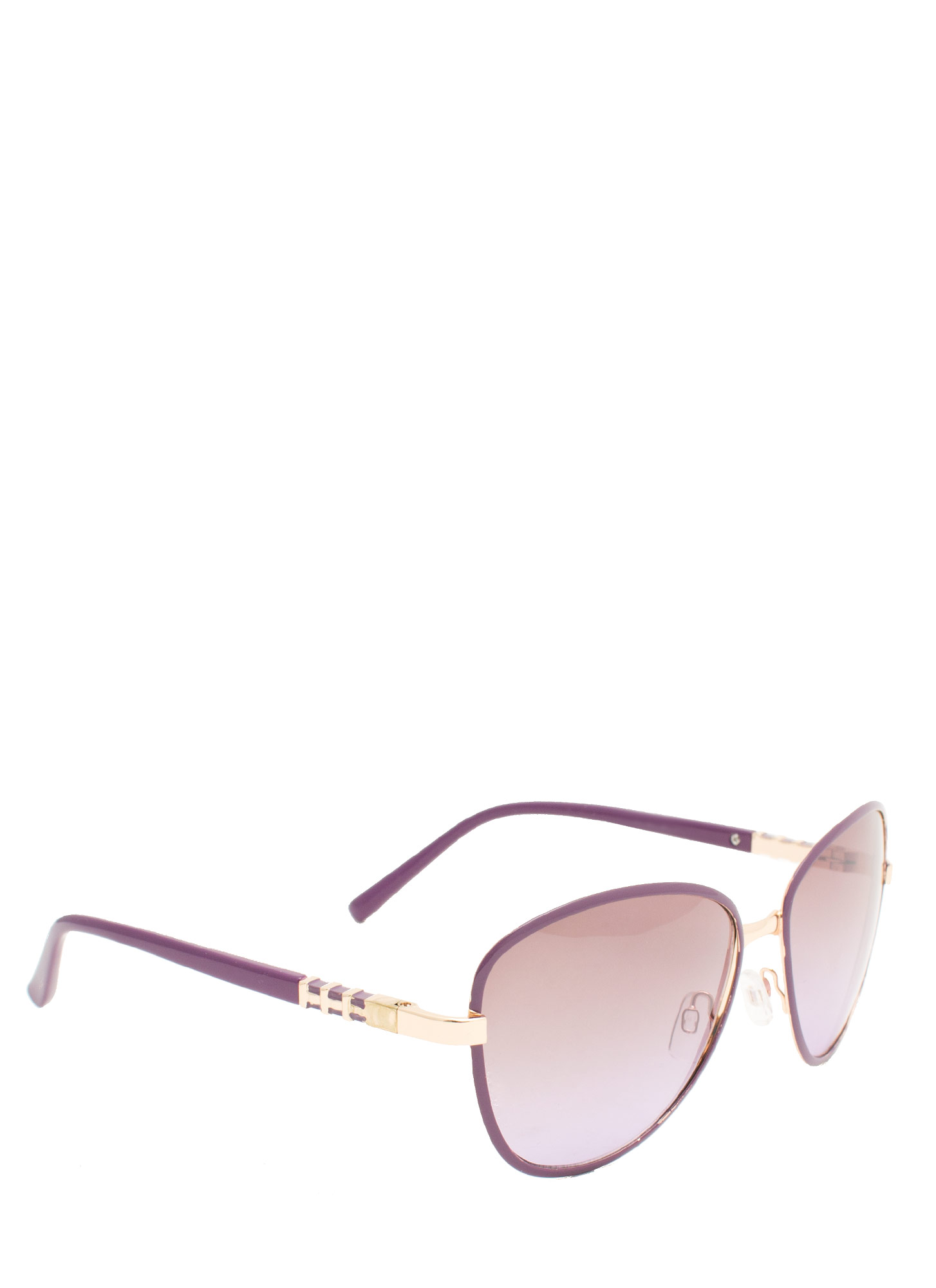 Touch Of Metallic Sunglasses PURPLE