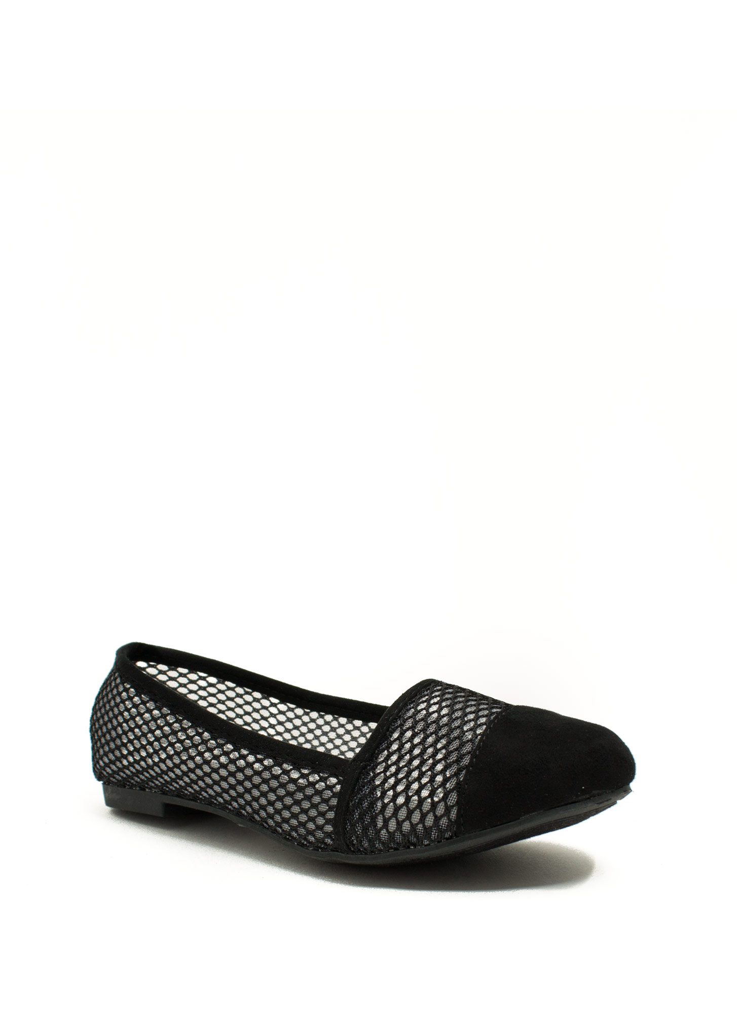 Mesh U Up Skimmer Flats BLACK