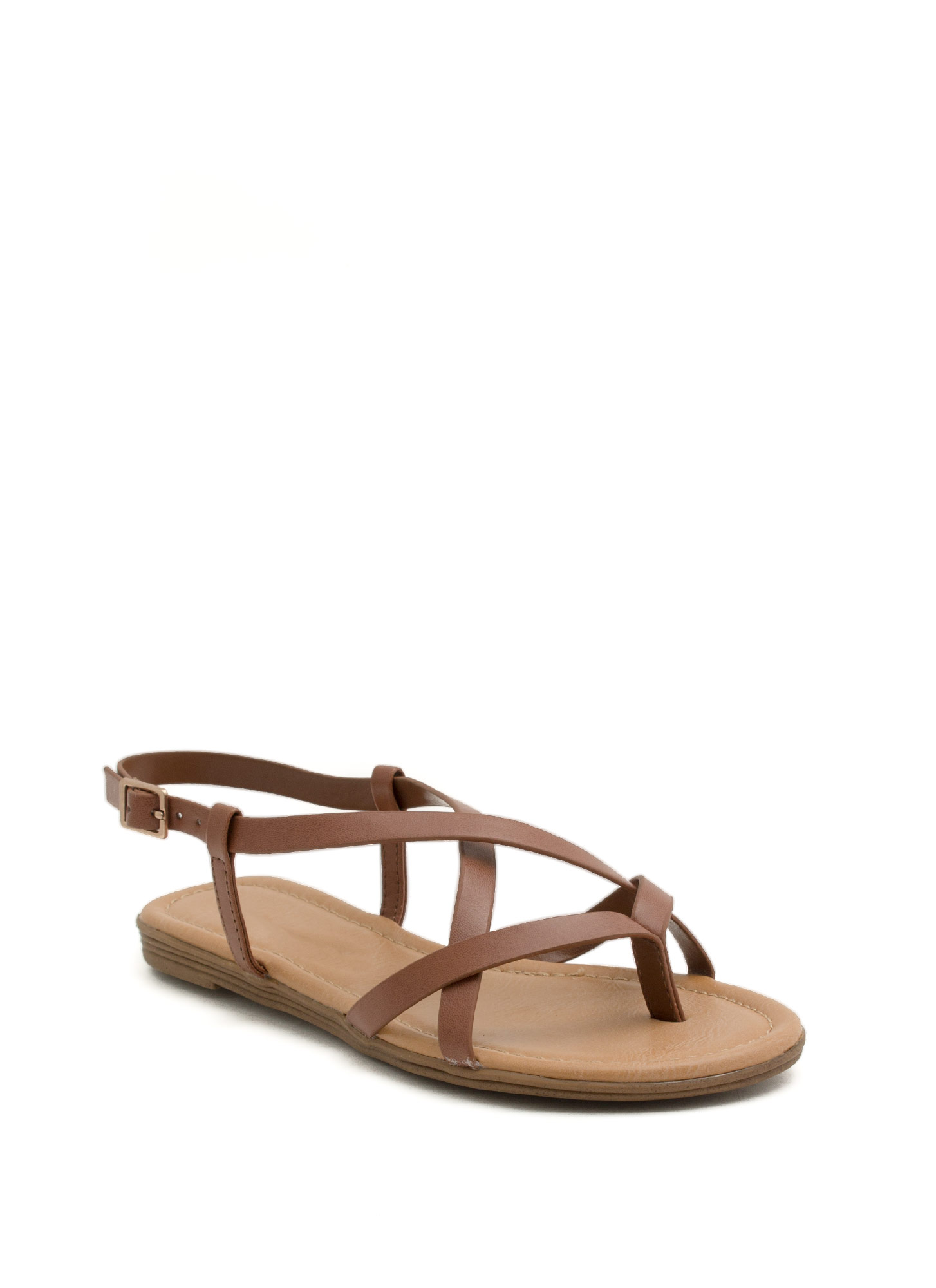 Summertime Radness Strappy Sandals DKTAN