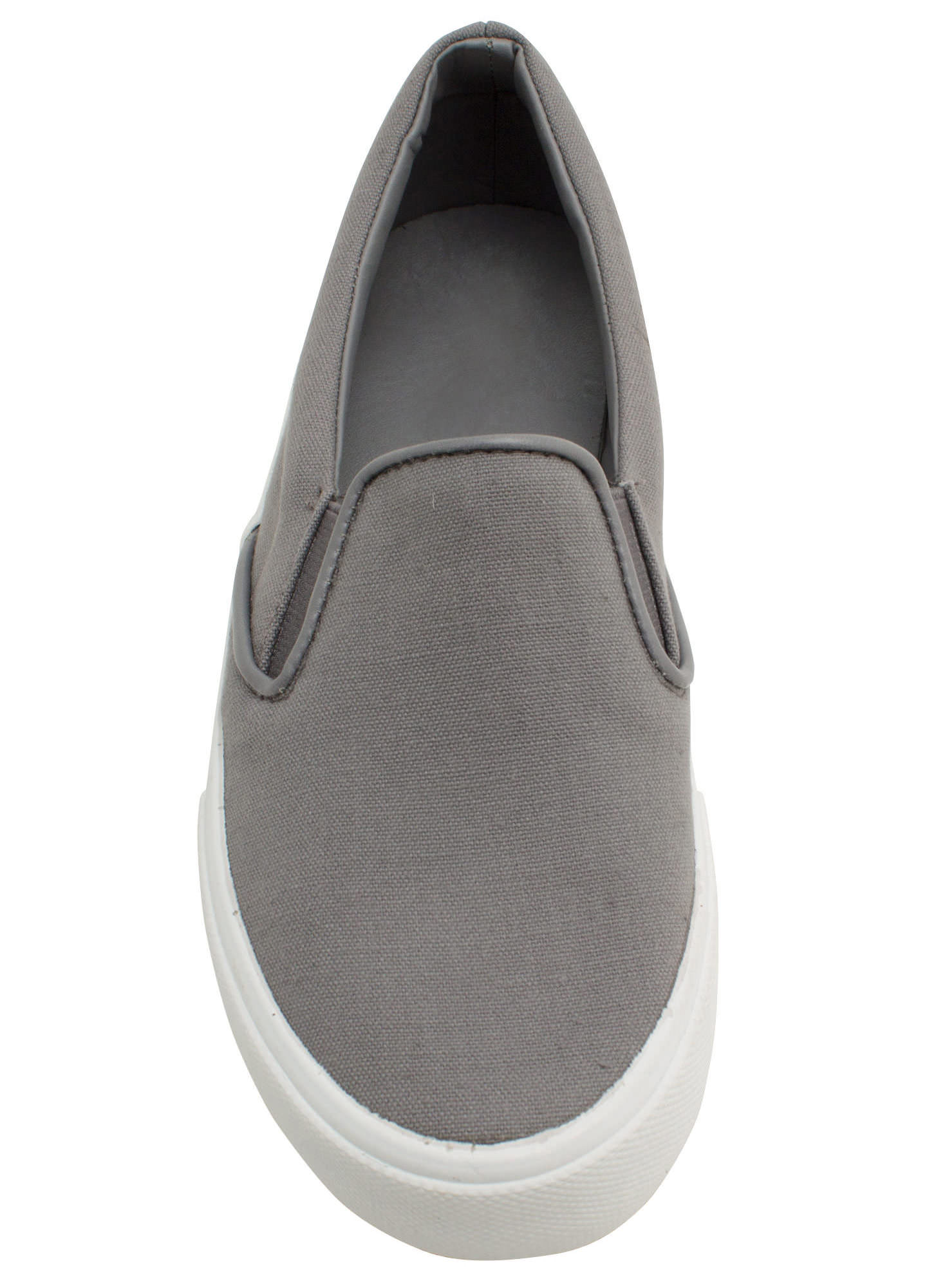 Solid Foundation Slip-On Sneakers GREY