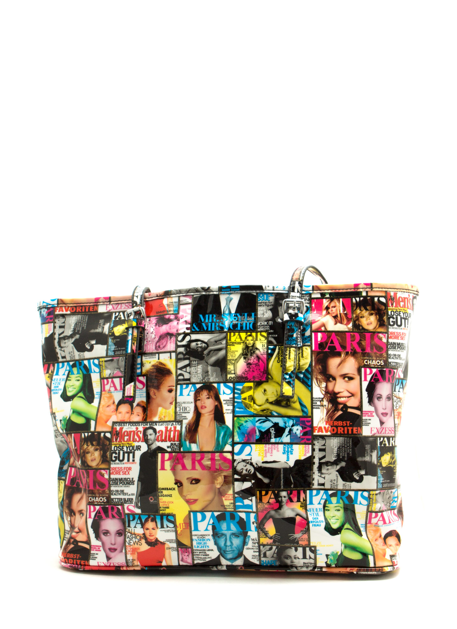 Cover Page Magazine Tote Bag MULTI