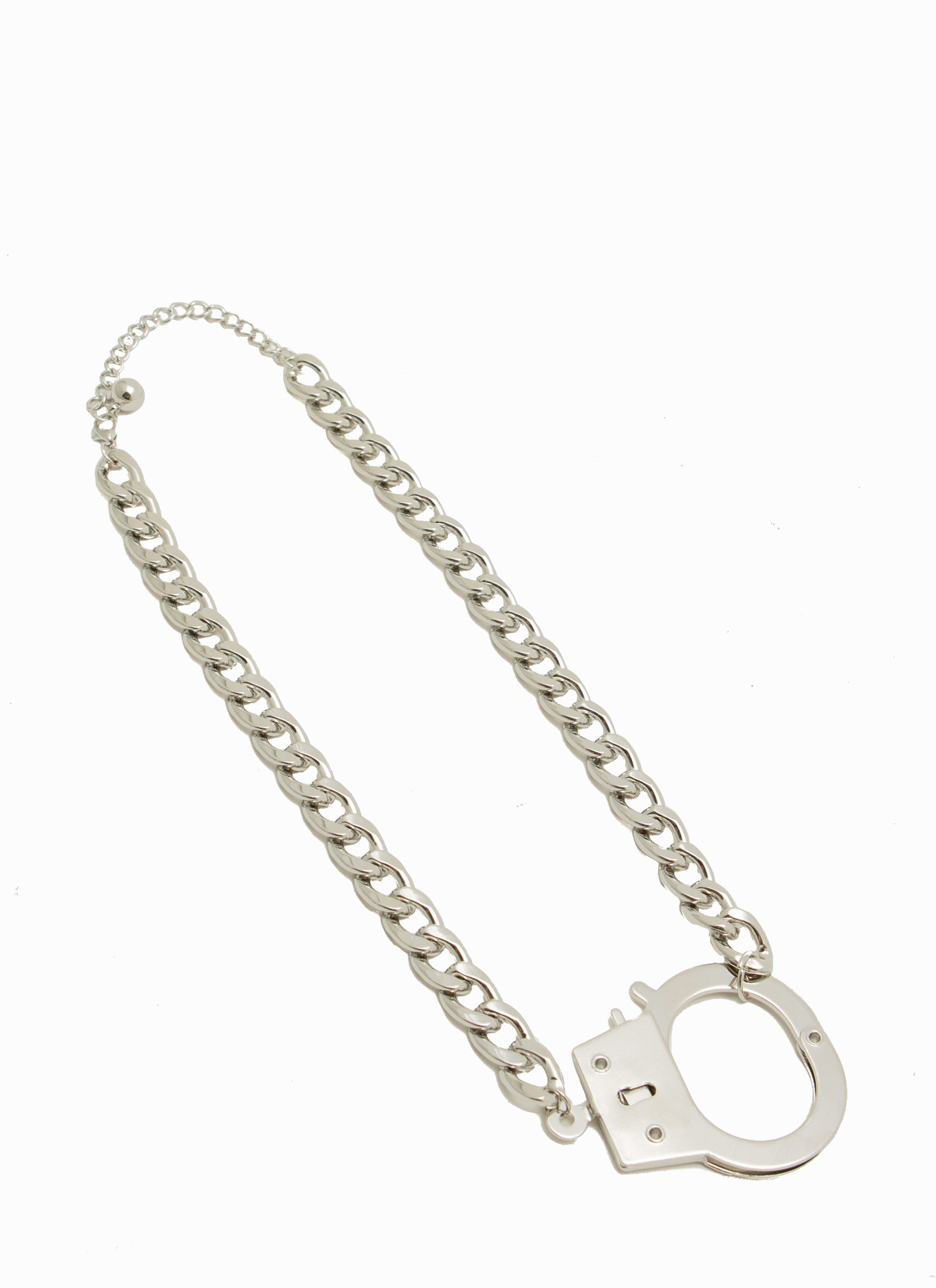 Get Cuffed Necklace SILVER
