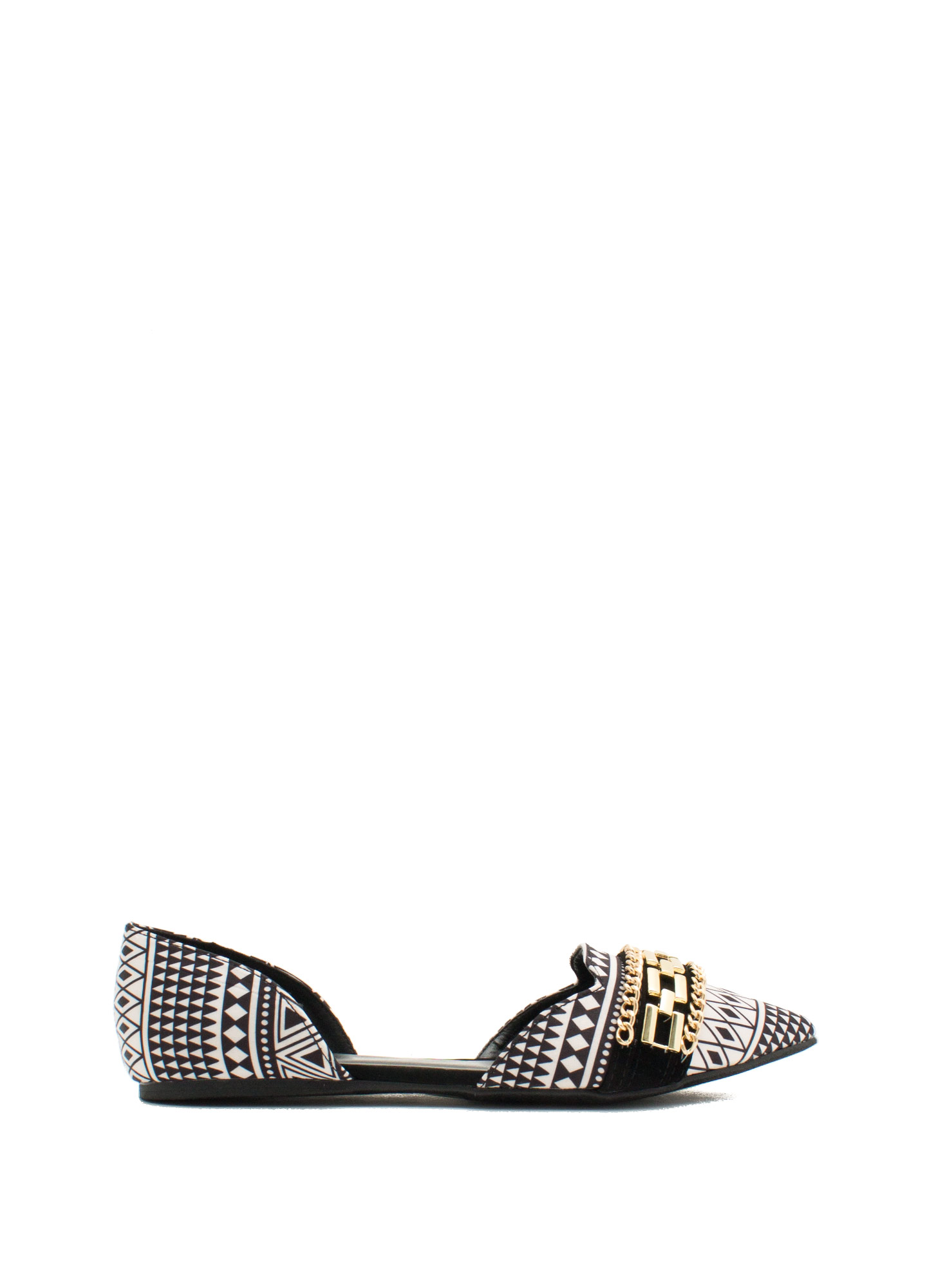 3 Chains D'Orsay Flats BLACKBEIGE