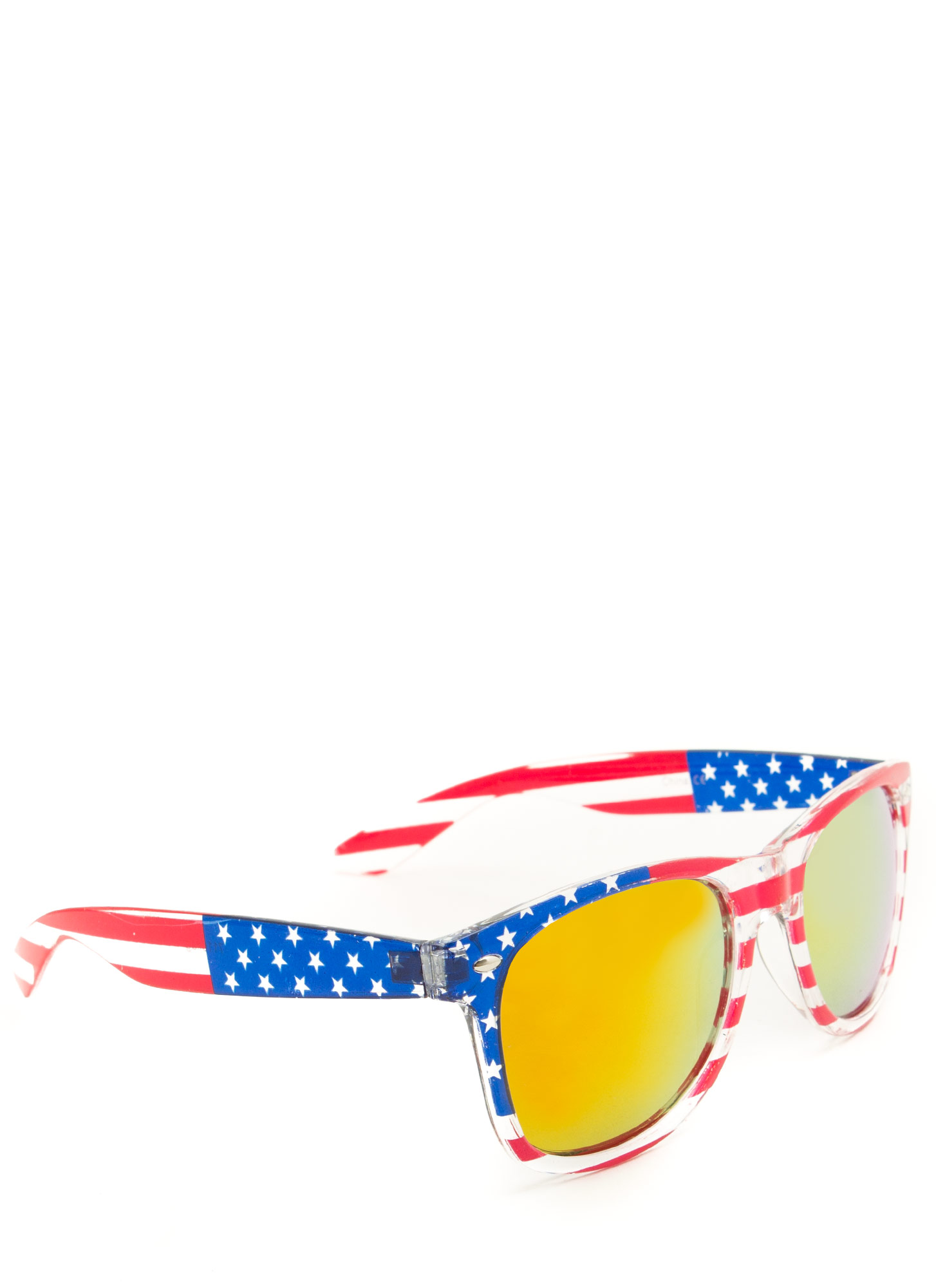 Stars N Stripes Sunglasses ORANGE