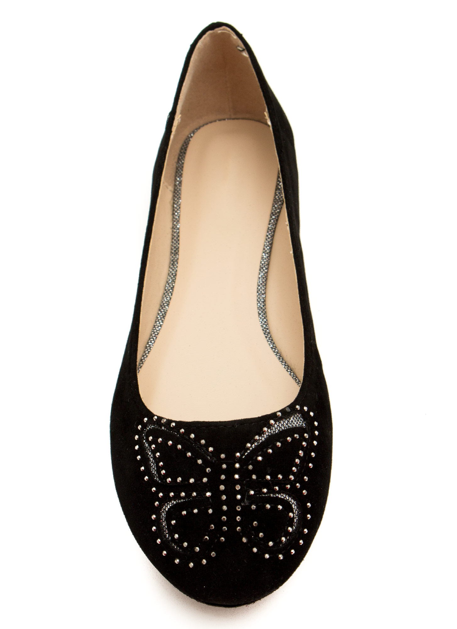 I'm So Butter-fly Flats BLACK